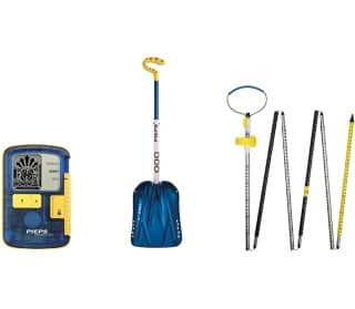 PIEPS Set Powder BT(Powder Bt, Shovel C-660, Probe Aluminium 260 Sport) LVS-Set