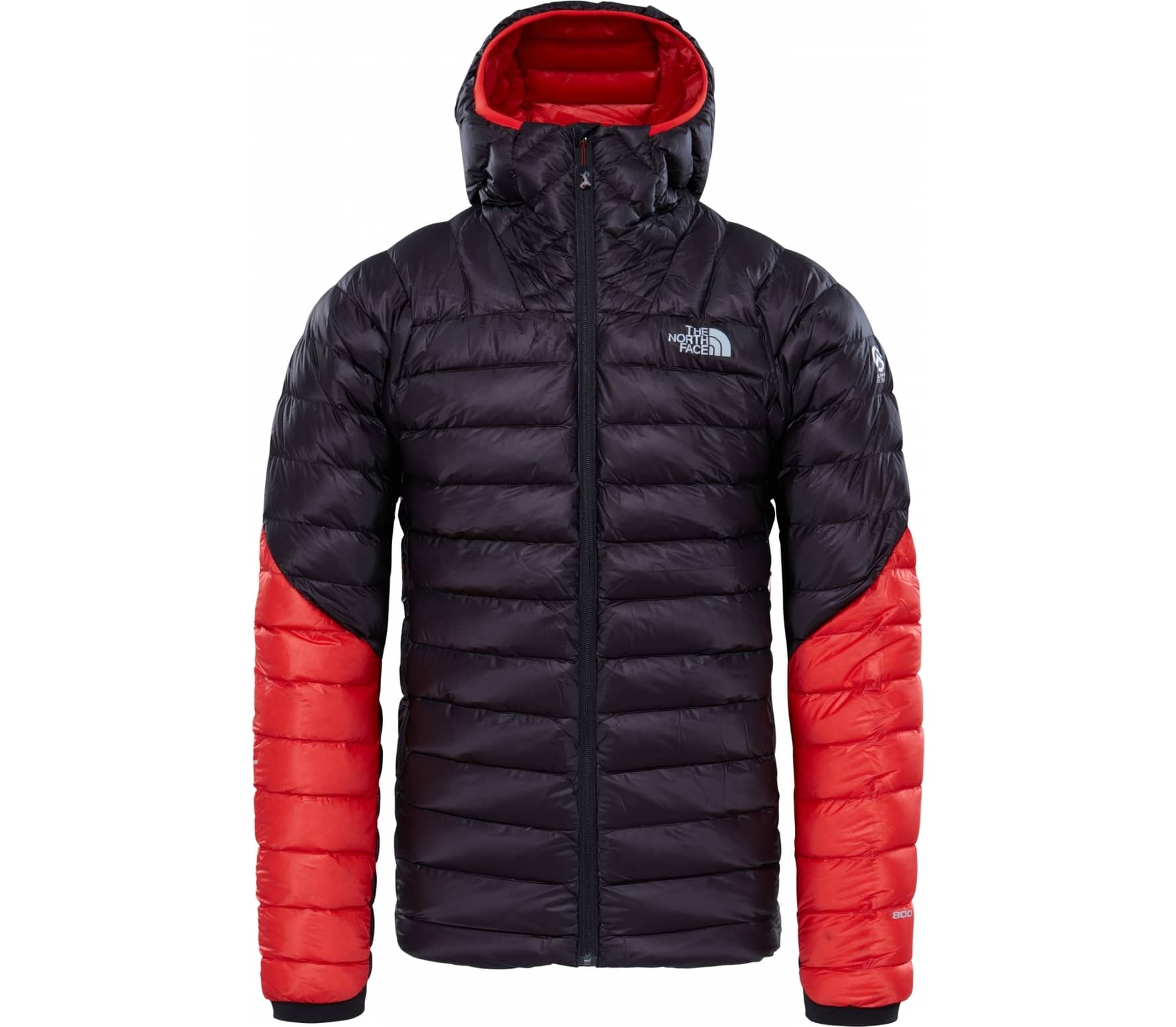 98da2b4b175 The North Face - Summit L3 Down hoodie men s down jacket (black red ...