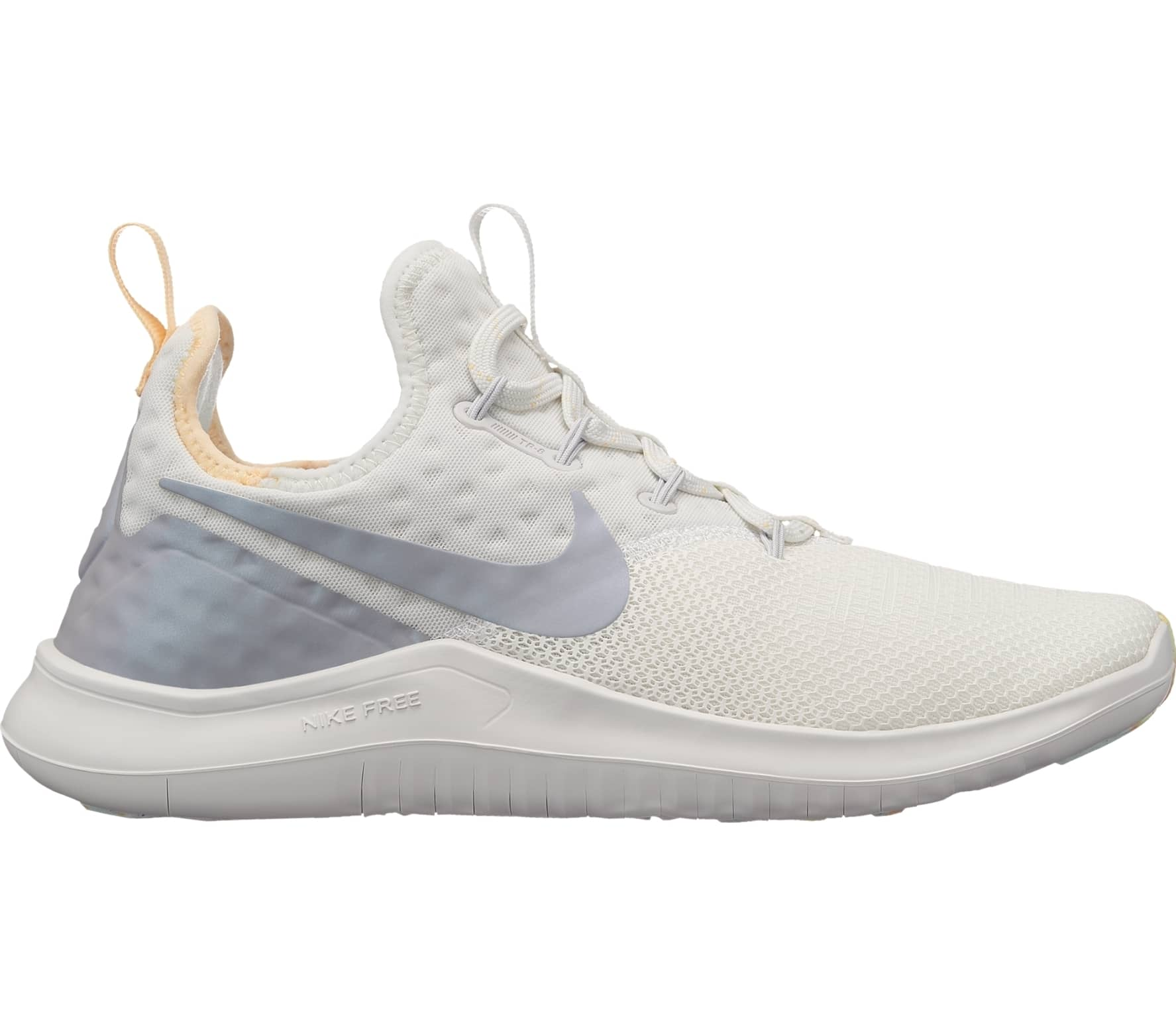 new arrival e5f4c 05121 Nike - Free TR 8 Rise women s training shoes (white grey)