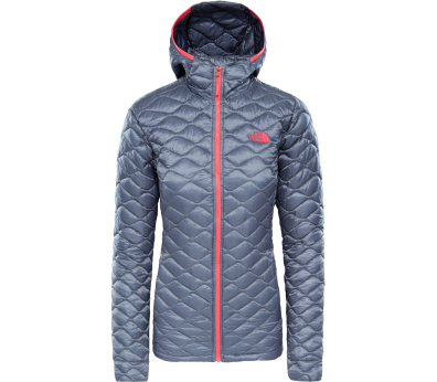 The North Face - ThermoBall Pro hoodie women's insulating jacket (grey)
