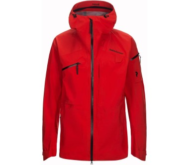 Peak Performance - Alpine Herren Skijacke (rot)