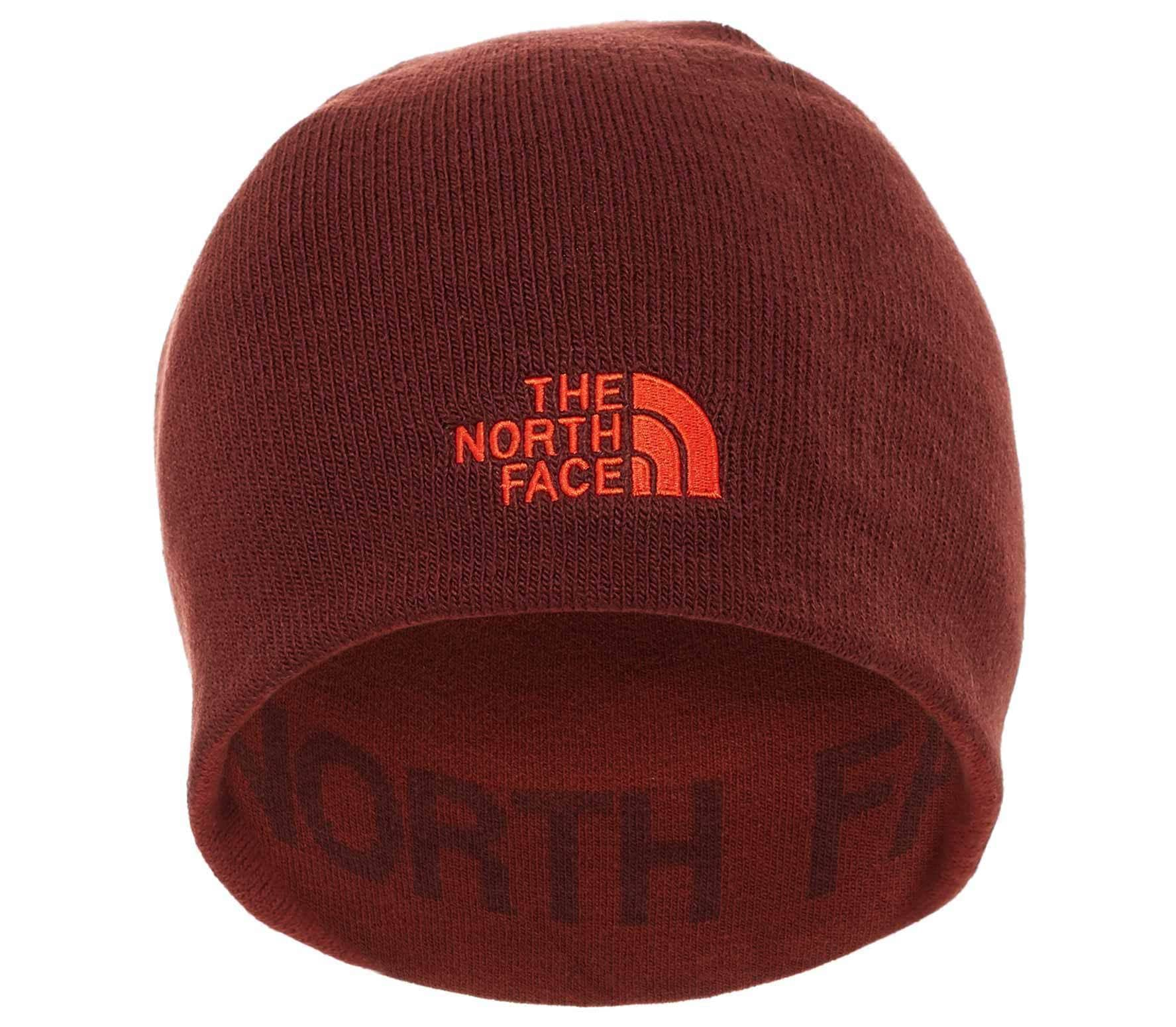 The North Face - Reversible TNF Banner beanie (red) - buy it at the ... 0800747ff6cd