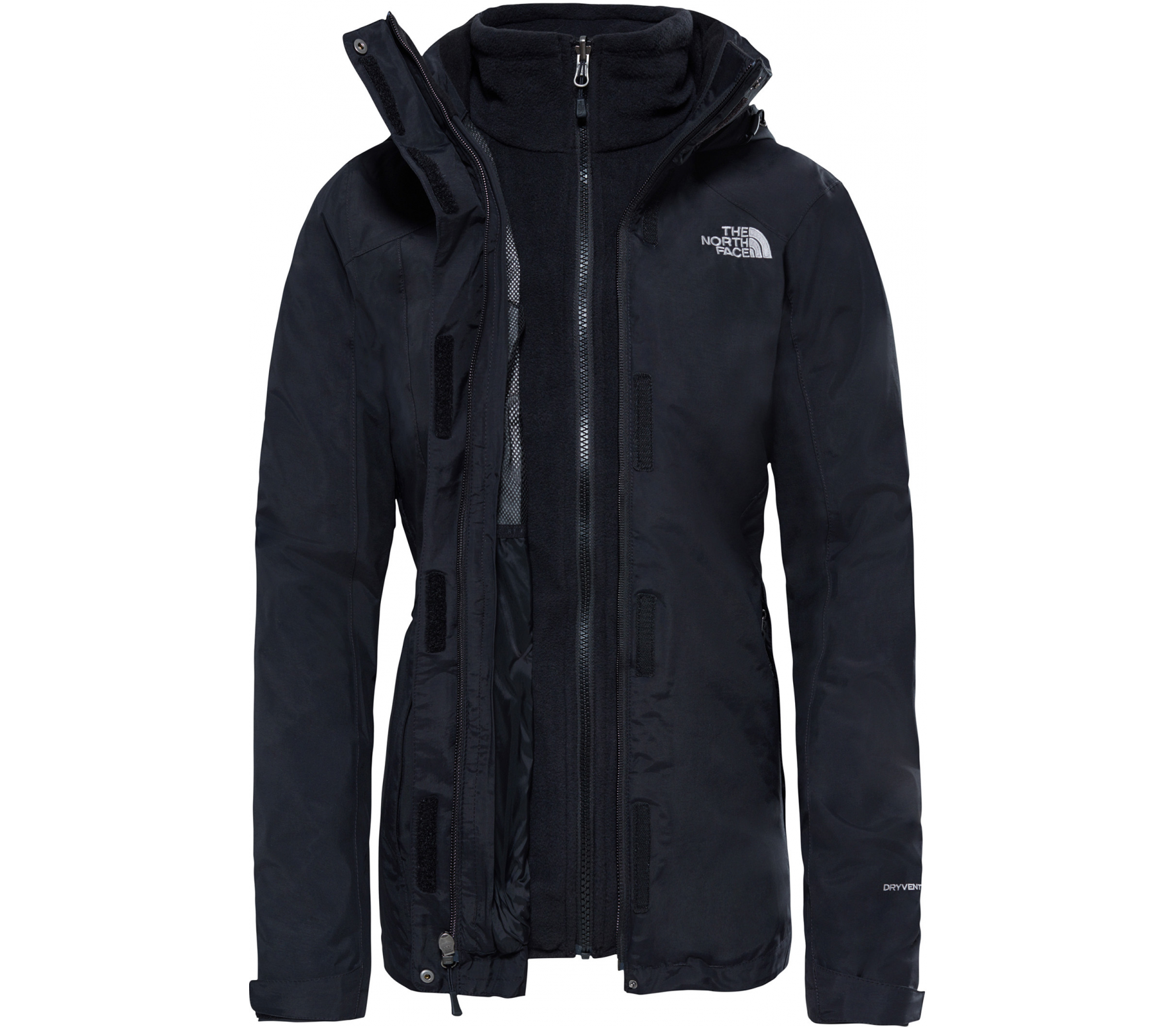 The North Face - Evolution II Triclimate Damen Outdoorjacke (schwarz)