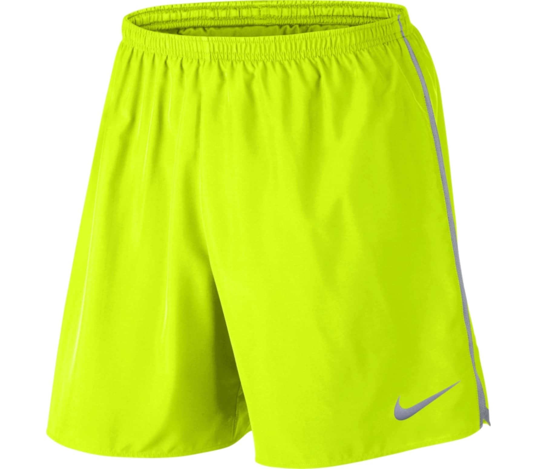 fecf3ede5c Nike - Dry men's running shorts (neon yellow) - buy it at the Keller ...