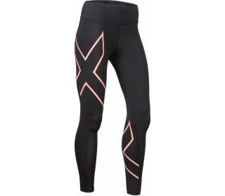 2xu Bonded Mid-Rise Compression Tights Men black