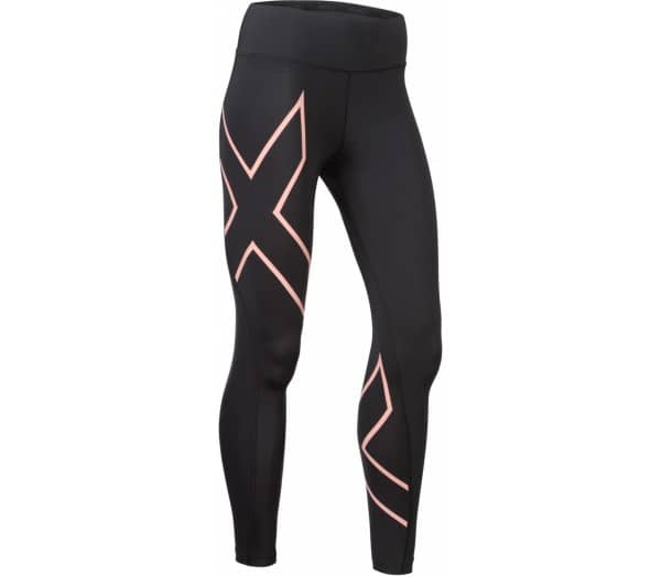 2XU Bonded Mid-Rise Compression Tights Herren Lauftights - 1