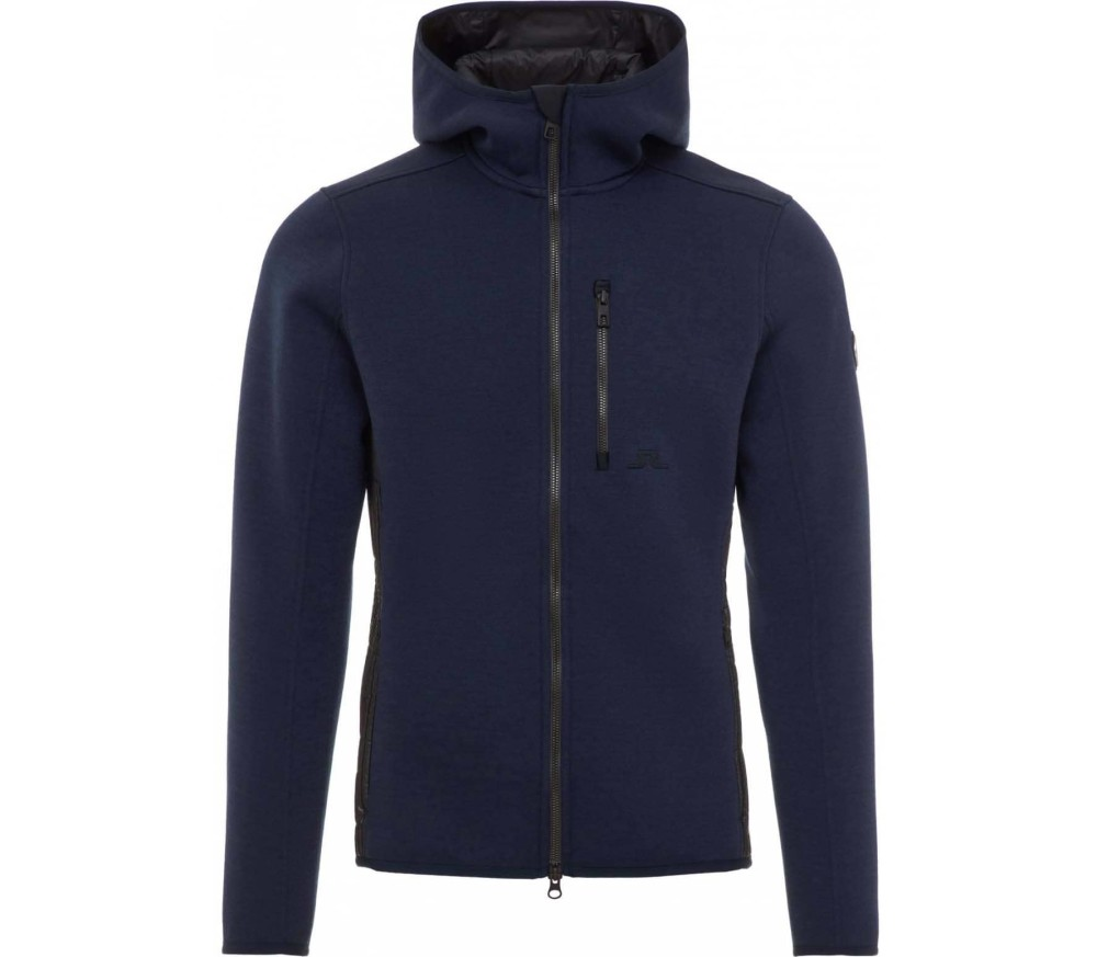 J.Lindeberg - Lugar Techno men's fleece jacket (blue)