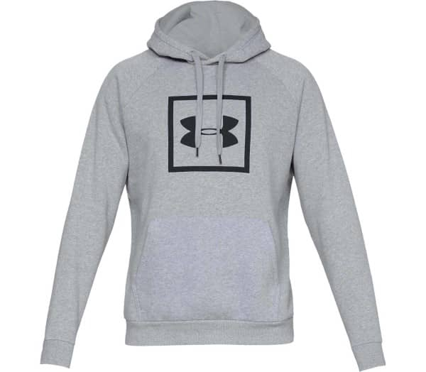 UNDER ARMOUR Rival Fleece Box Logo Herren Hoodie - 1