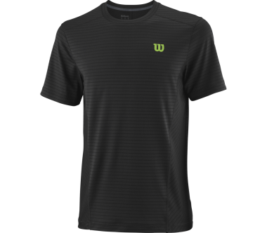 Wilson - UWII Linear Crew men's tennis top (black)