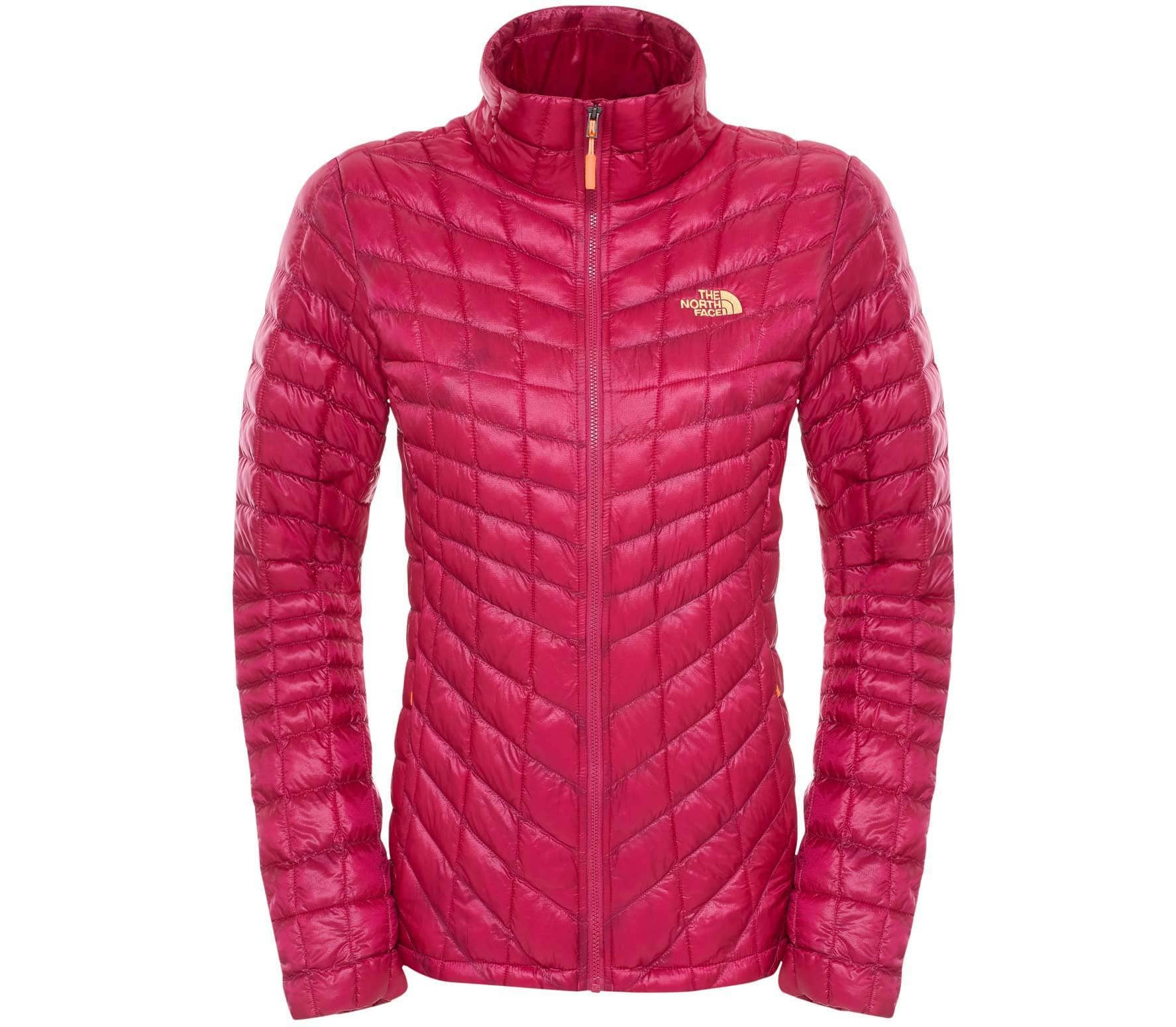 Thermoball rojo Zip Chaqueta North Face The Full Primaloft Mujer wpaf6Sq