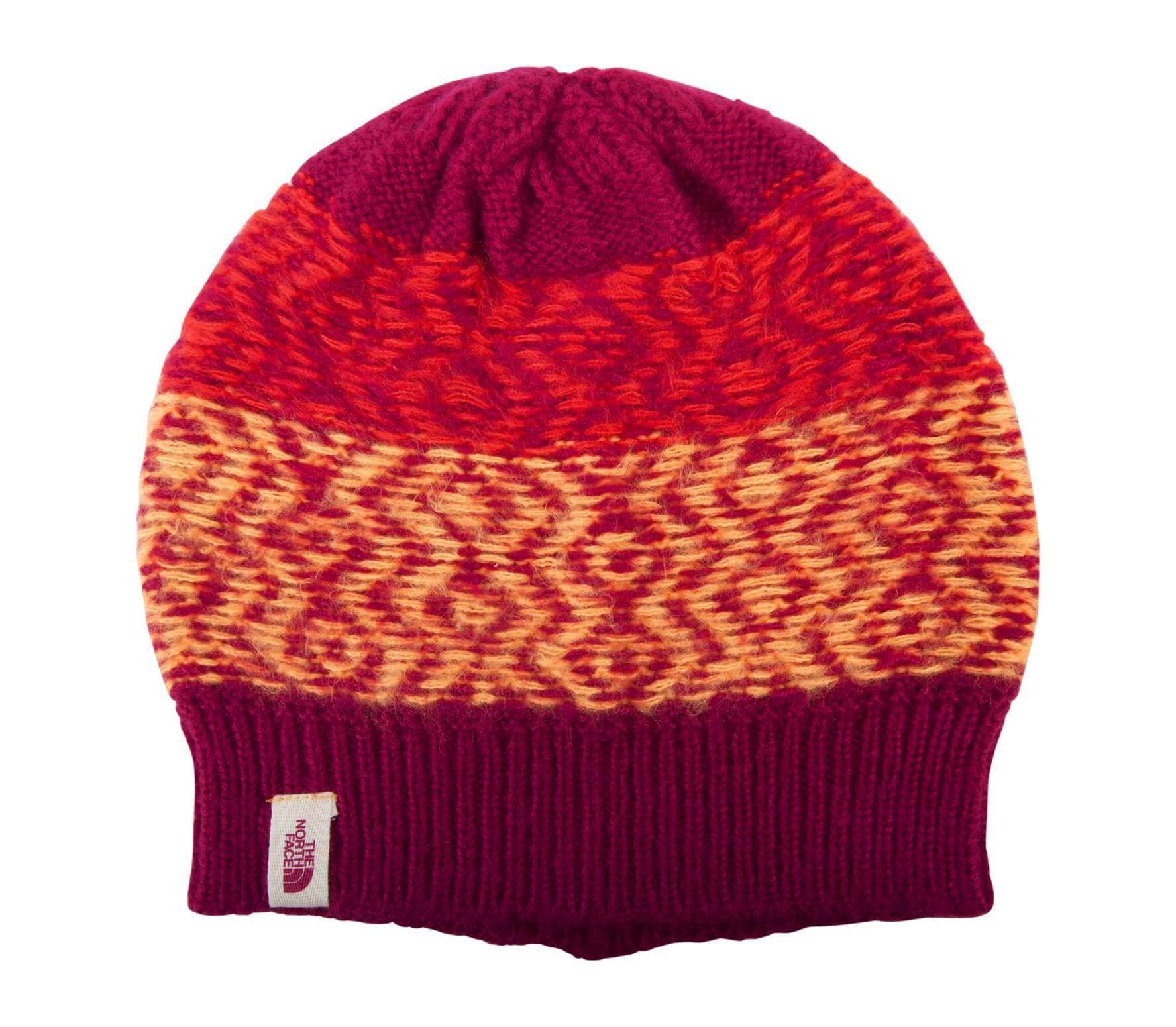 4a57bfec499 The North Face - Tribe N True beanie (purple red) - buy it at the ...