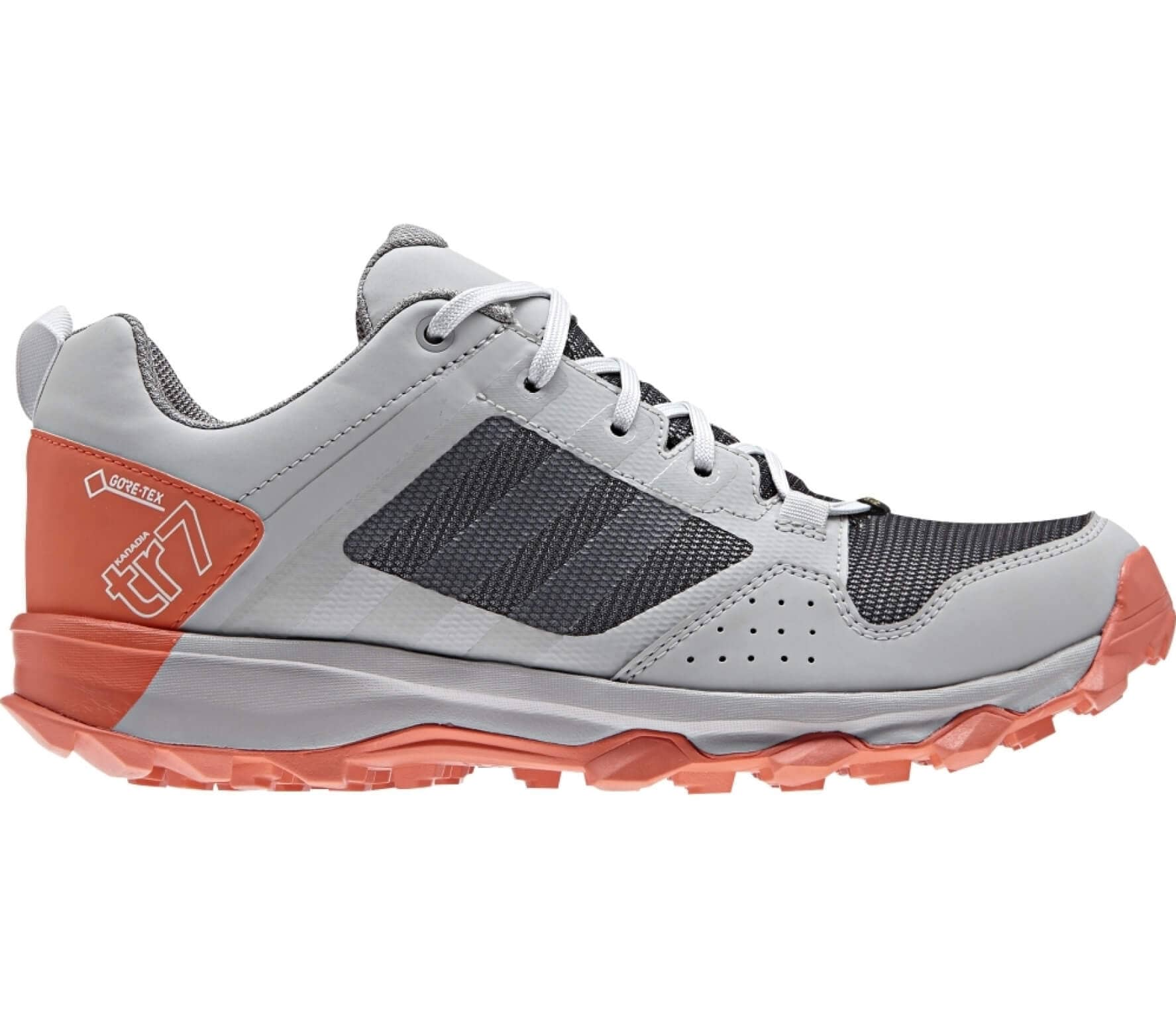 Adidas - Kanadia 7 TR GTX women s running shoes (grey orange) - buy ... d5a37ea40