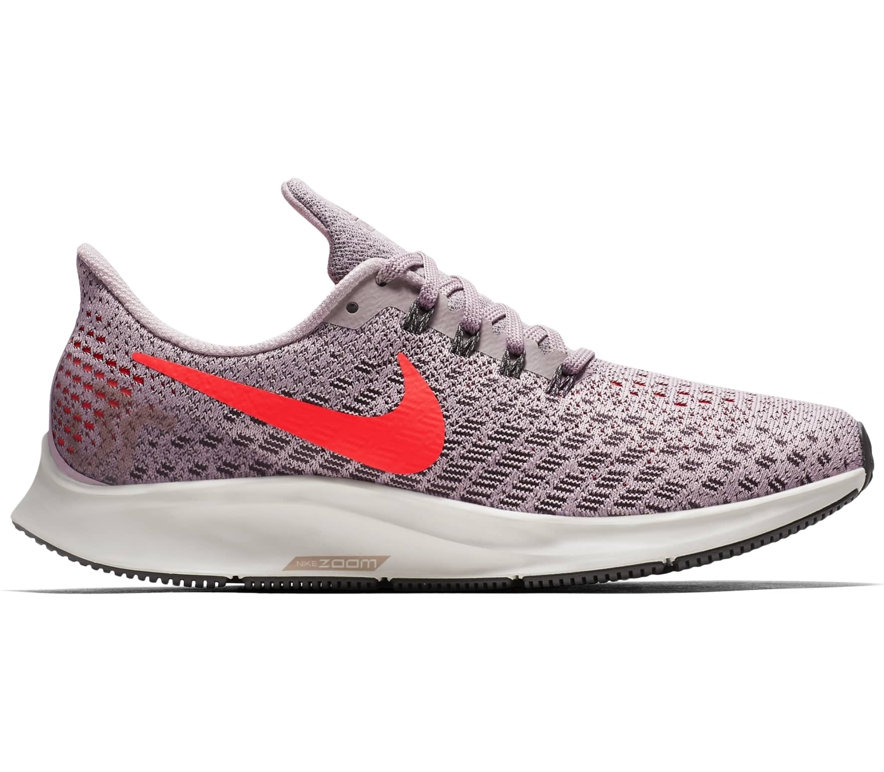 Nike - Air Zoom Pegasus 35 women's running shoes (grey/orange)