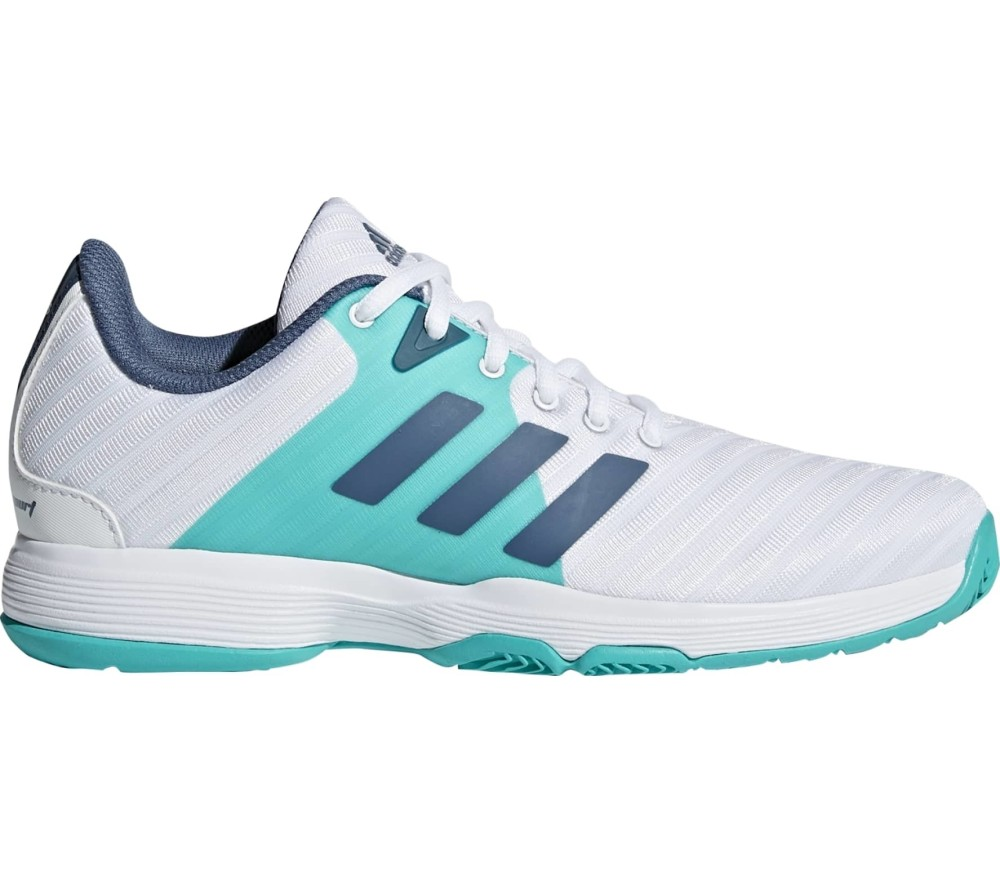 Turquoise Adidas Tennis Shoes