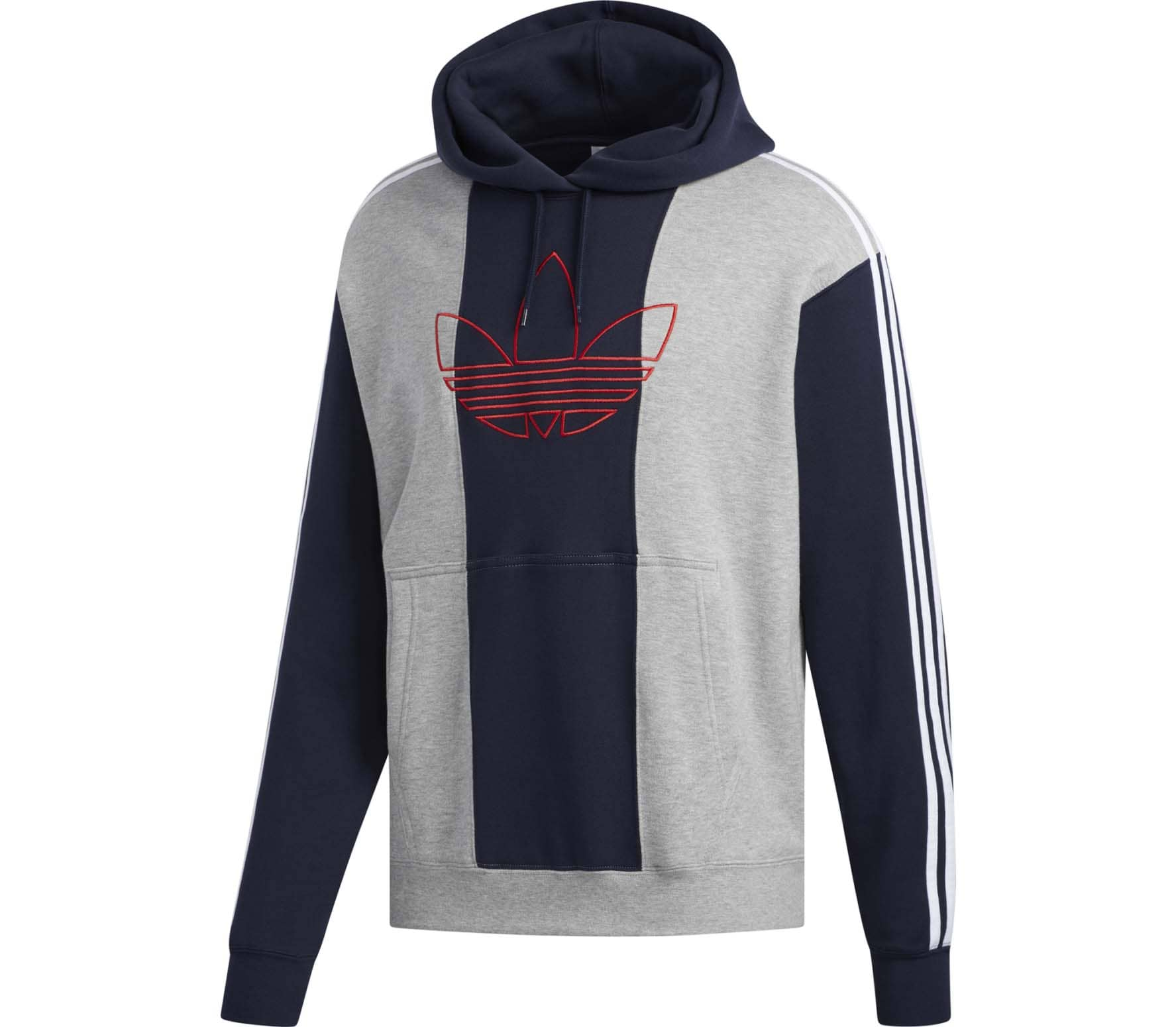 the latest 174e6 99162 adidas Originals Off Court Trefoil Herren Hoodie grau