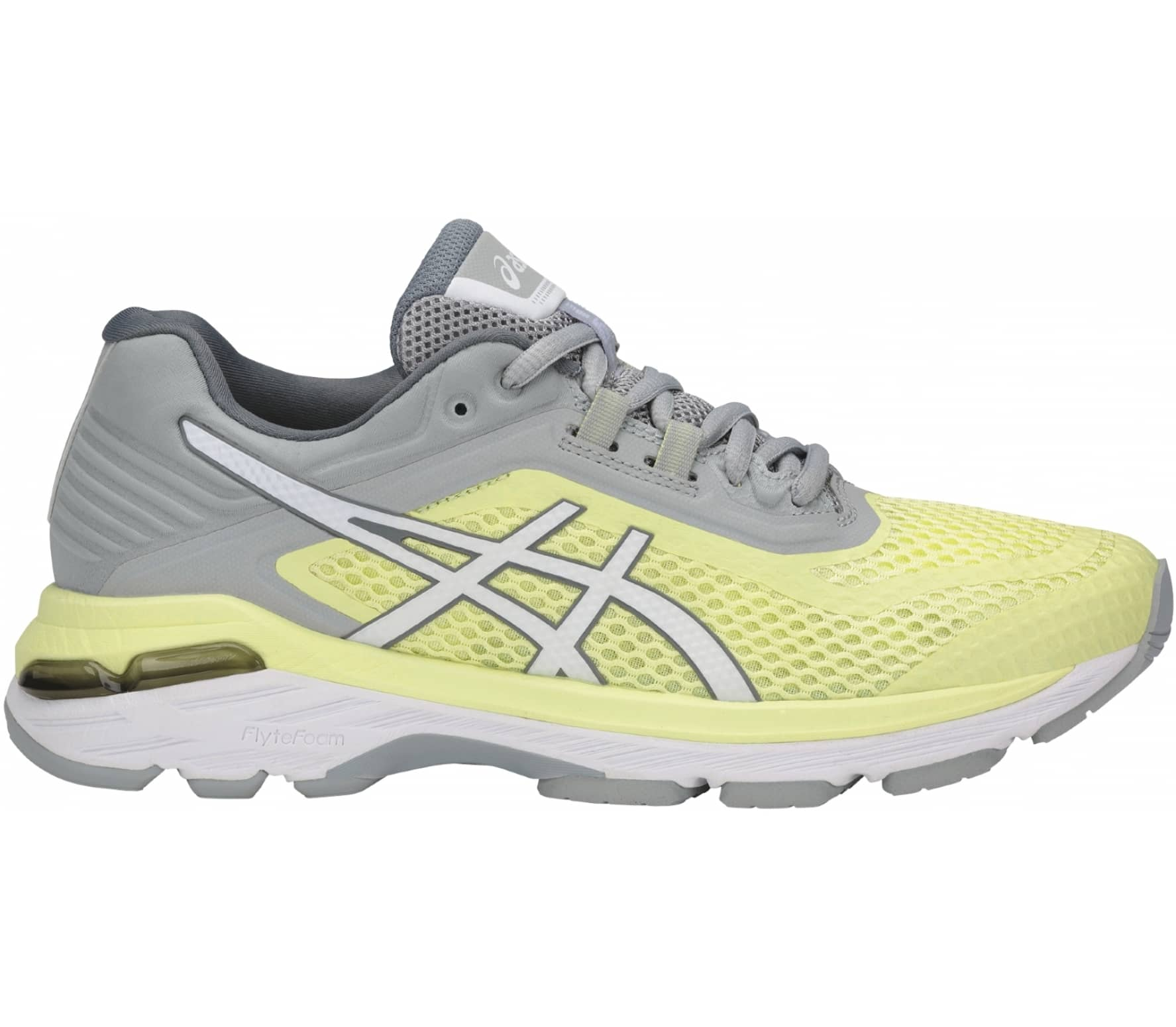 newest 91aba ef051 ASICS - Gt-2000 6 women's running shoes (yellow/grey)