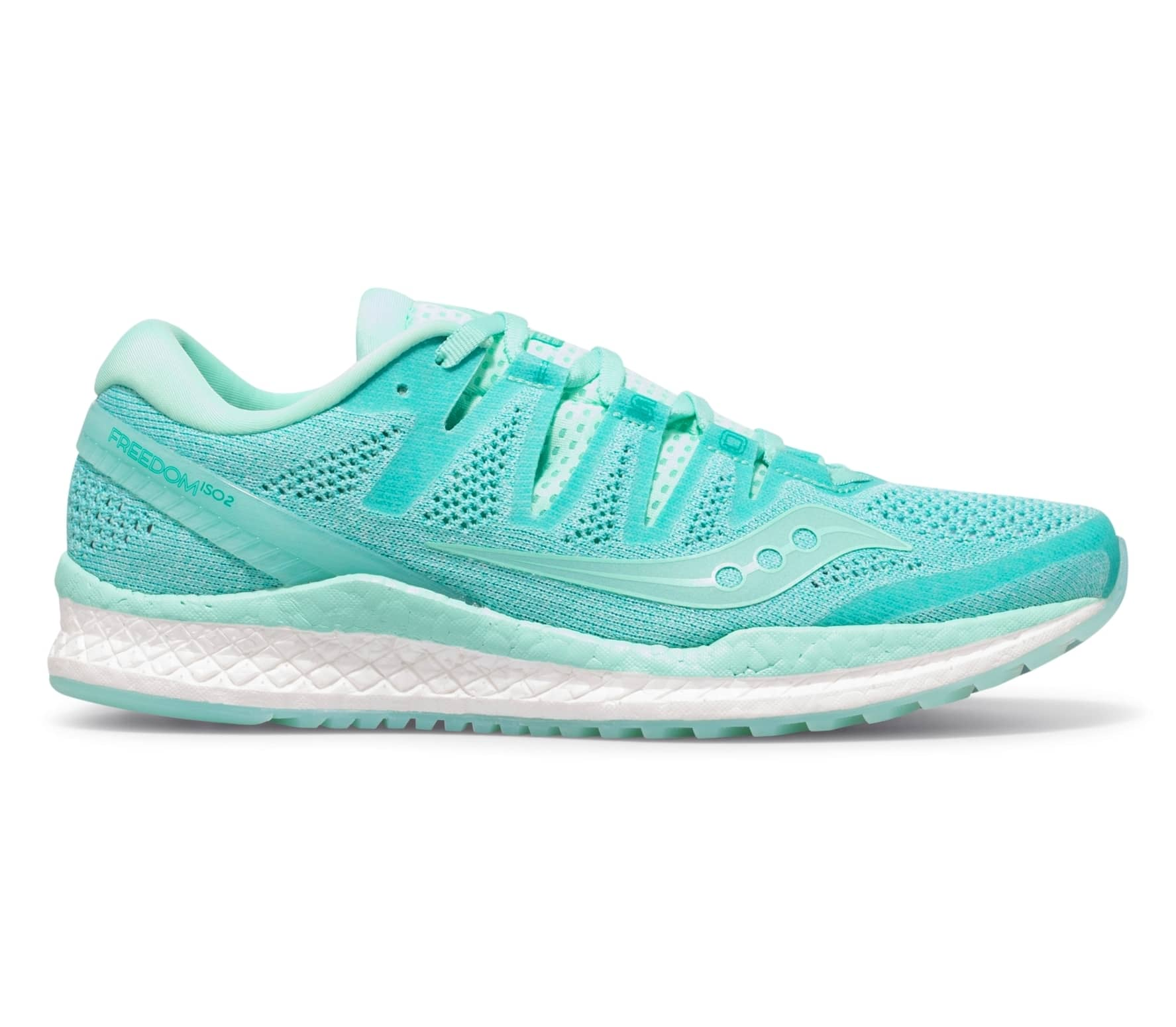 Saucony - Freedom Iso 2 women s running shoes (turquoise white ... b3a5673e833b