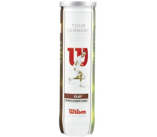 Tour Germany - 4er Dose Unisex Tennis Balls
