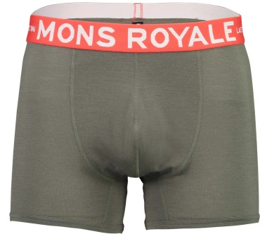 Mons Royale - Hold 'em Shorty Heren Merino bokser (groen)