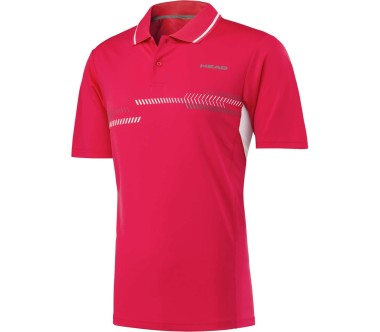 Head - Club Technical men's tennis polo top (red)