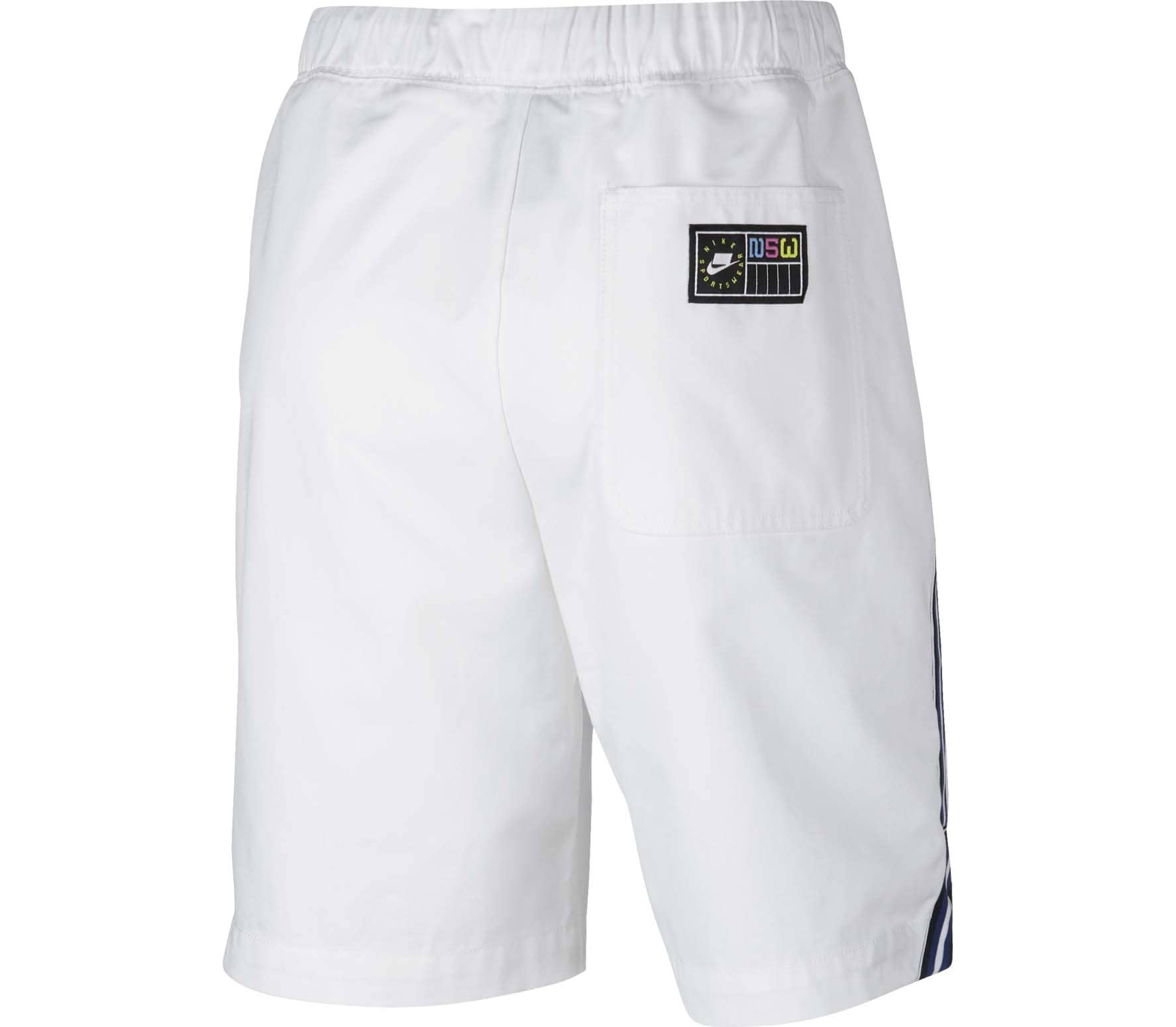 Nike Sportswear Canvas Damen Shorts weiß