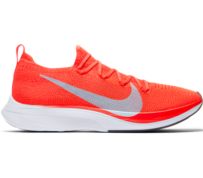 Nike - VaporFly 4% Flyknit running shoes (orange)