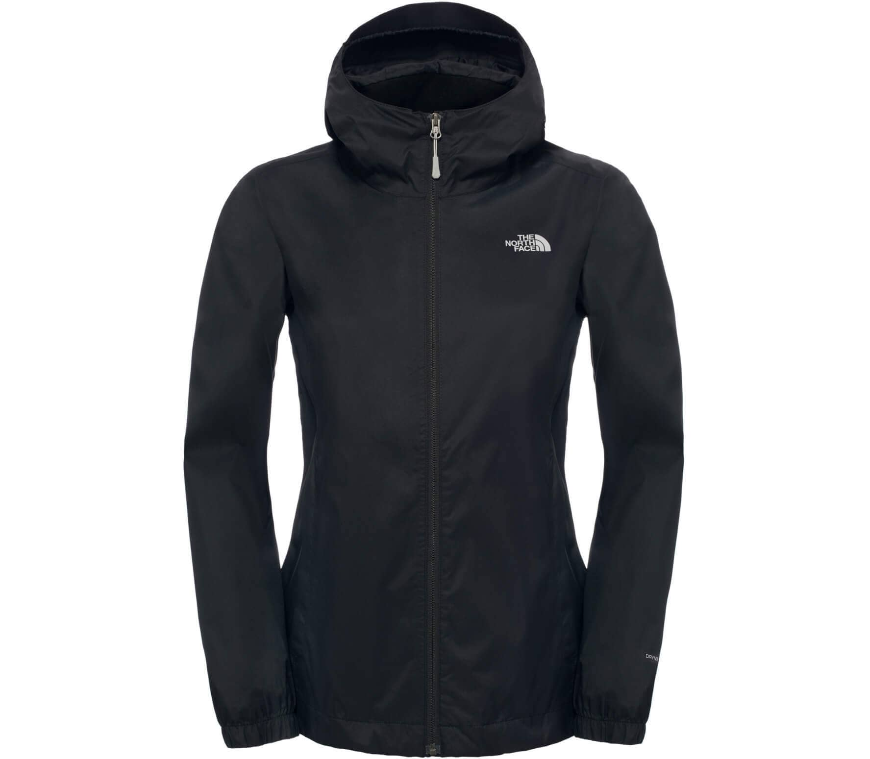 adf763a0ebfe8d The North Face - Quest Damen Regenjacke (schwarz) im Online Shop von ...