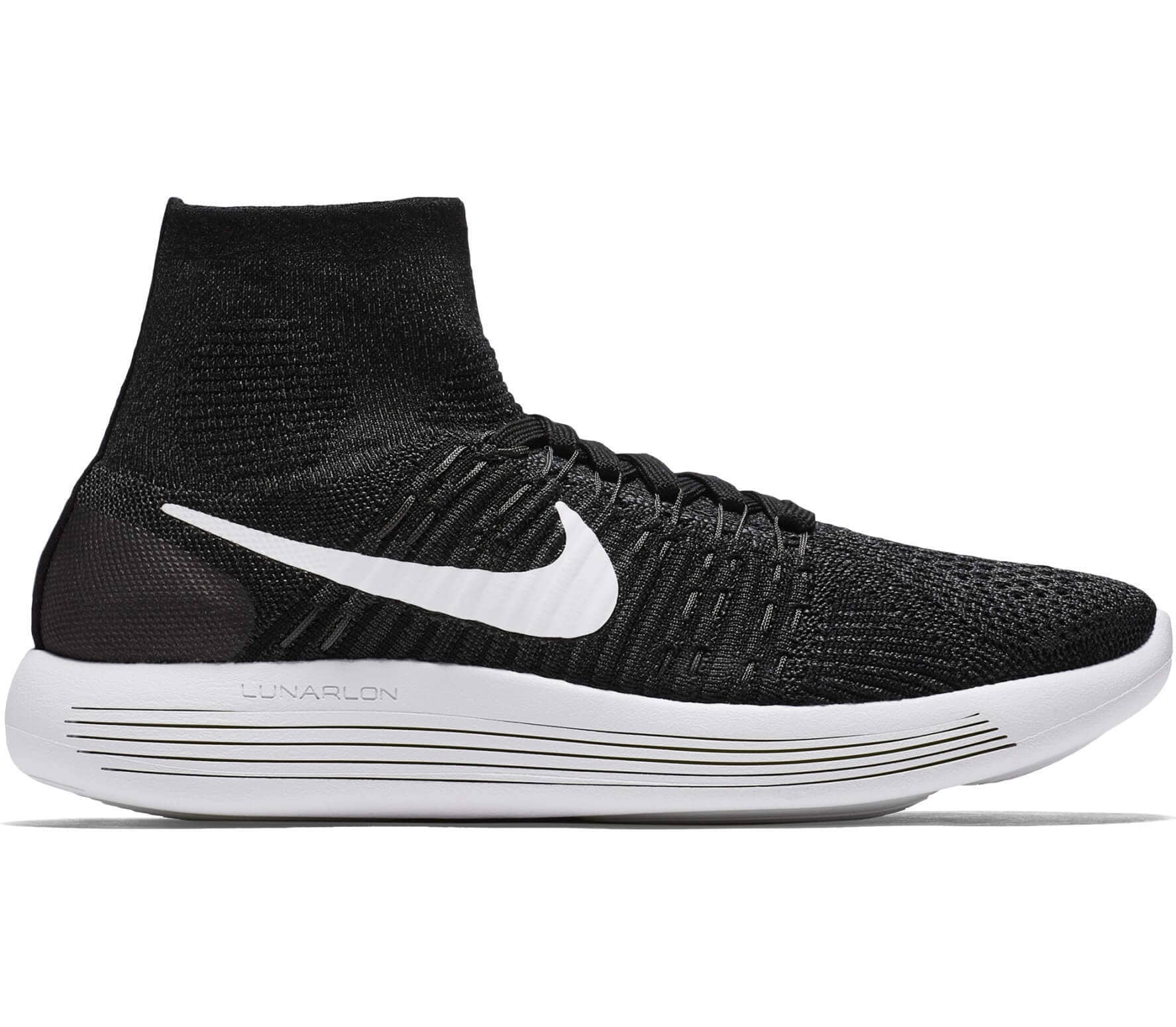 pretty nice 63287 9e5bd Nike - Lunar Epic Fly Knit women s running shoes (black white)