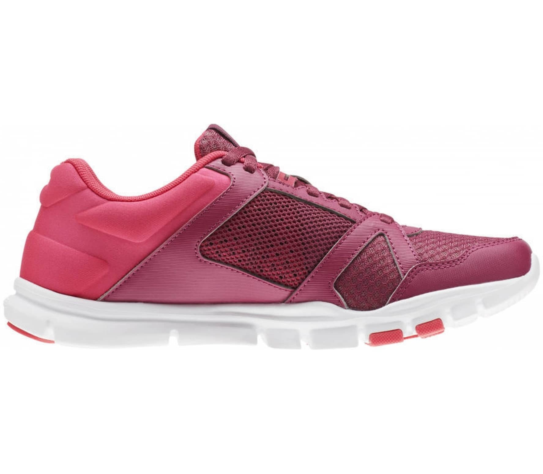 2ac4ef116ab84 Yourflex Trainette Damen Trainingsschuh (pink weiß) - EU 42 - UK 8. REEBOK  ...
