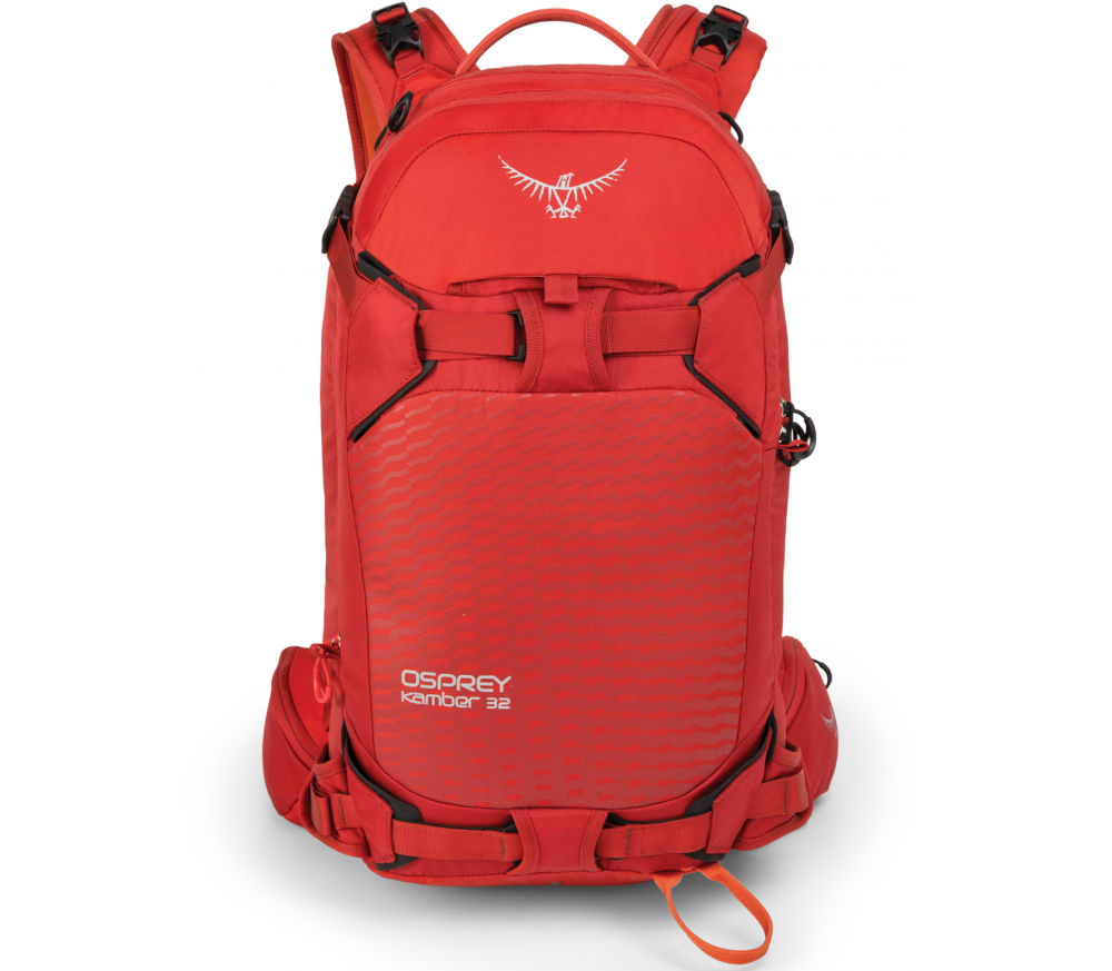 Osprey - Kamber 32 skis backpack (red)
