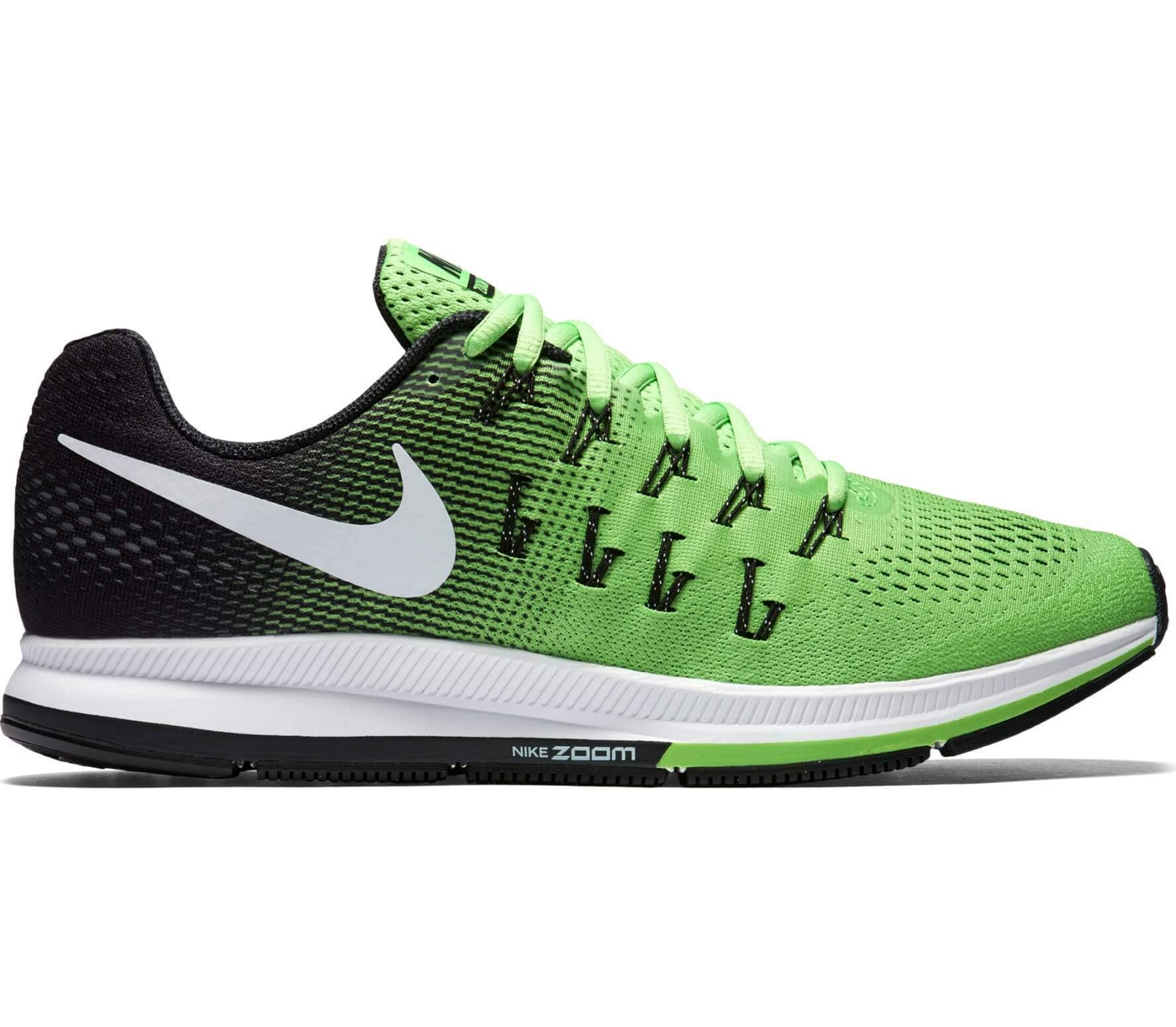 official photos caba8 cd214 Nike - Air Zoom Pegasus 33 Herr löparskor (lime svart)