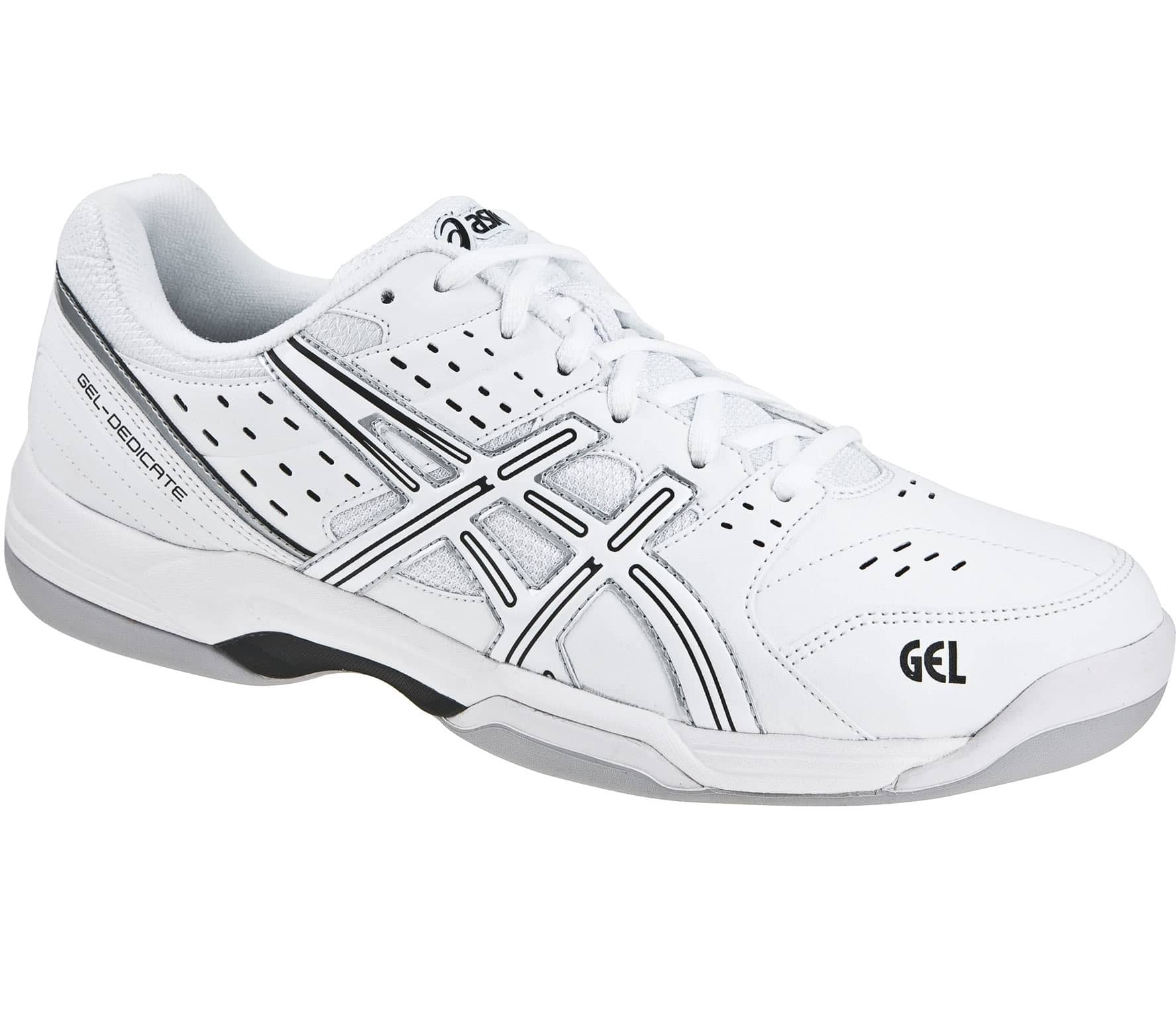 asics tennisschuhe herren gel dedicate 3 indoor hw13 im online shop von keller sports kaufen. Black Bedroom Furniture Sets. Home Design Ideas