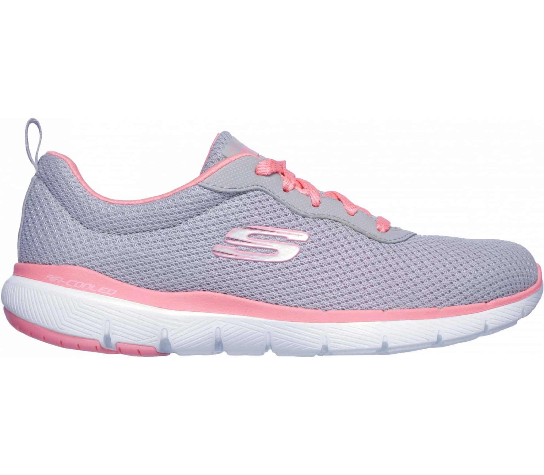 cc6eb709af8ea7 Skechers - Flex Appeal 3.0 women's training shoes (grey) - buy it at ...