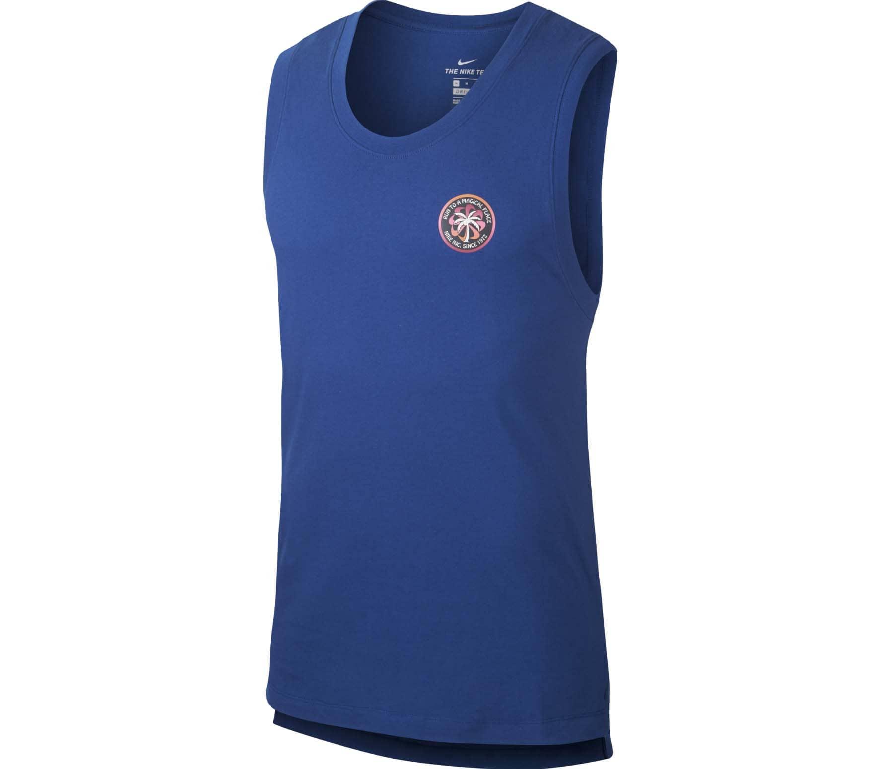 Nike Dri-FIT Wild Run Herren Laufshirt blau