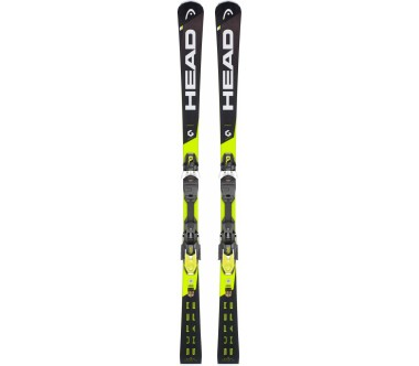 Head - Supershape i.Speed SW MFPR inkl. PRD 12 GW BR.85 ski med bindende (gul)