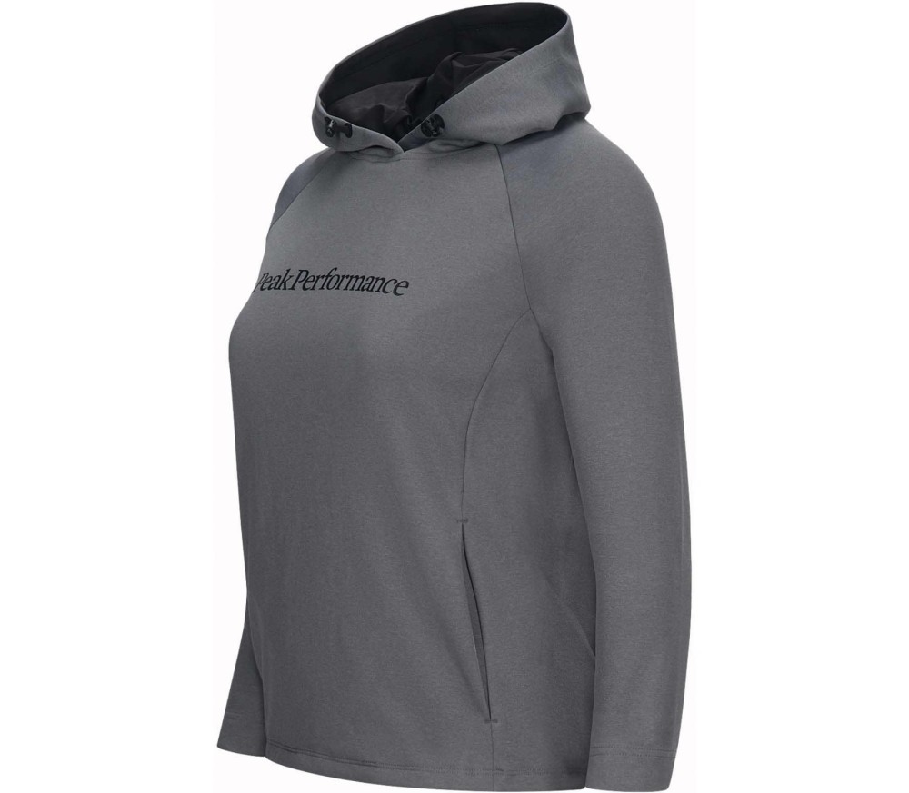 Peak Performance - Pulse women's functional hoodie (grey)
