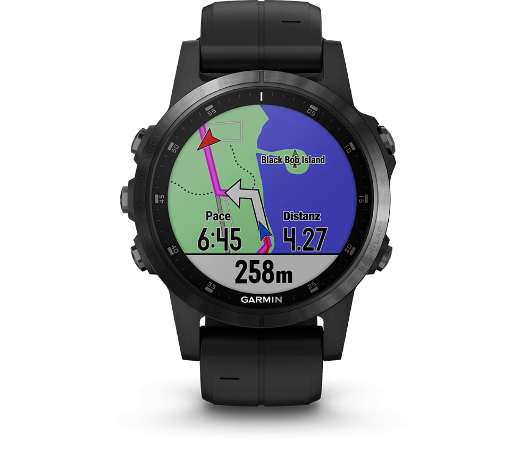 garmin fenix 5s plus saphir edition multisports watch. Black Bedroom Furniture Sets. Home Design Ideas