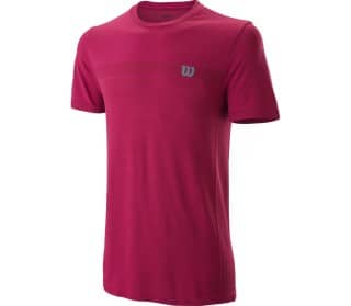Competition Seamless Crew Herren Tennisshirt