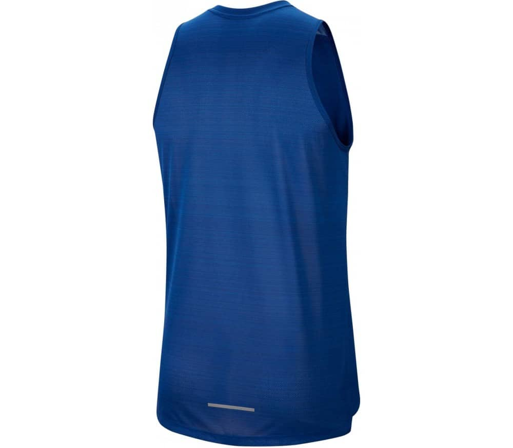 Nike Dri-FIT Miler Men Running Top blue