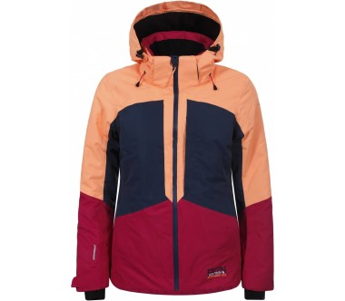 Icepeak - Kate Damen Skijacke (orange/dunkelblau)