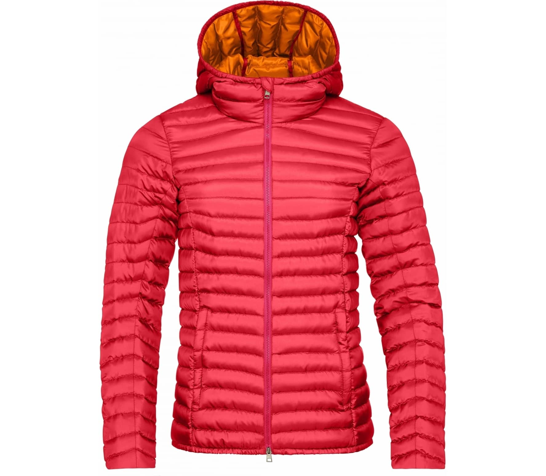 ead2be8a21f5 Kjus - Cypress Hooded women s down jacket (dark red orange) - buy it ...