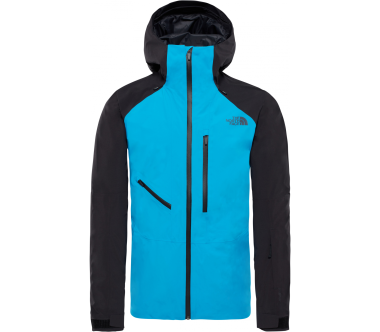The North Face - Powderflo Herren Skijacke (blau/schwarz)