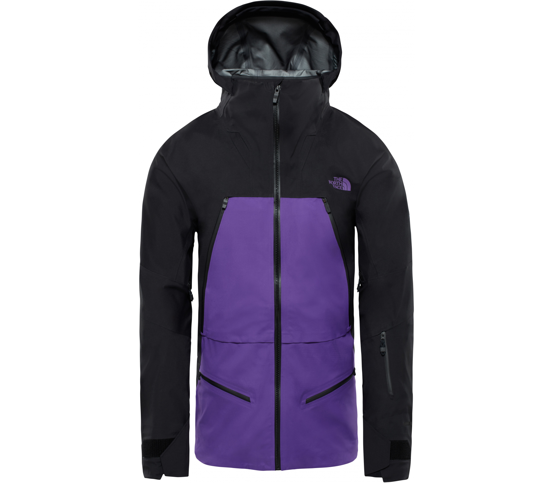 126f3b36253703 The North Face - Purist Herren Skijacke (schwarz lila) im Online ...