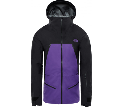The North Face - Purist Herren Skijacke (schwarz/lila)