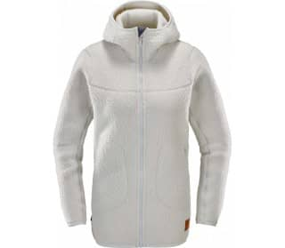 Pile Hood Women Fleece Jacket