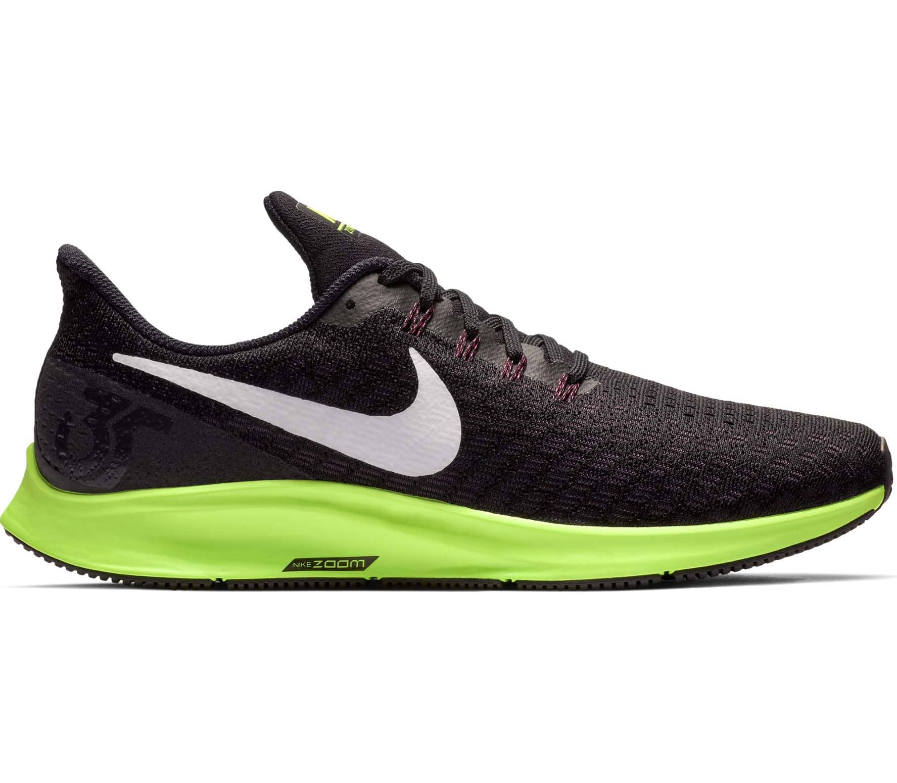 innovative design f4da9 e6cd2 Nike - Air Zoom Pegasus 35 Uomo scarpe da corsa (nero verde)