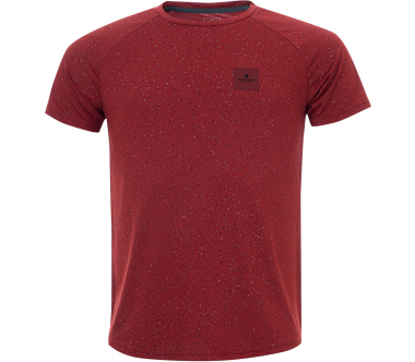 Saysky - Universe SS Unisex running top (red)