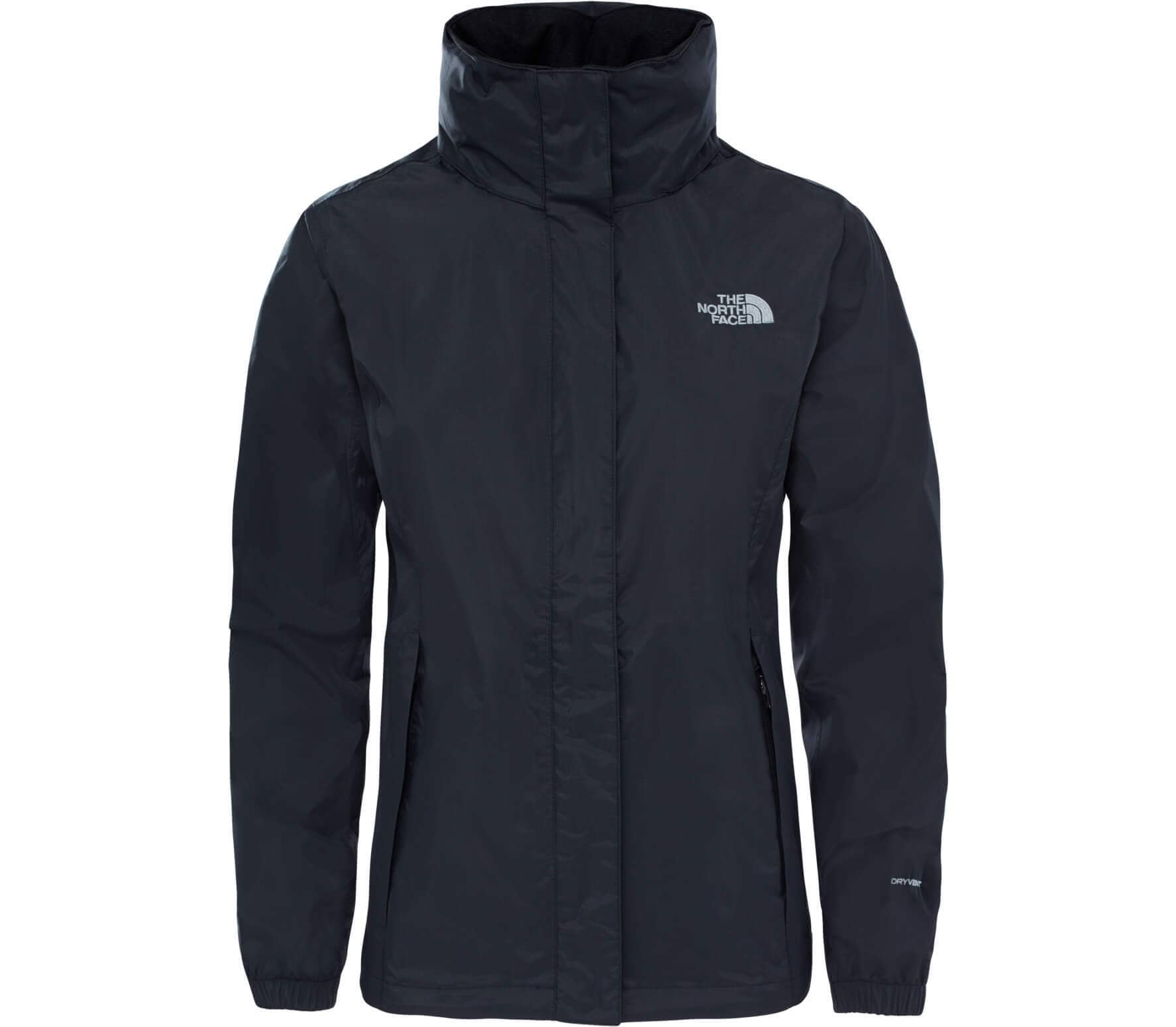 the north face resolve 2 women s raincoat  black  buy