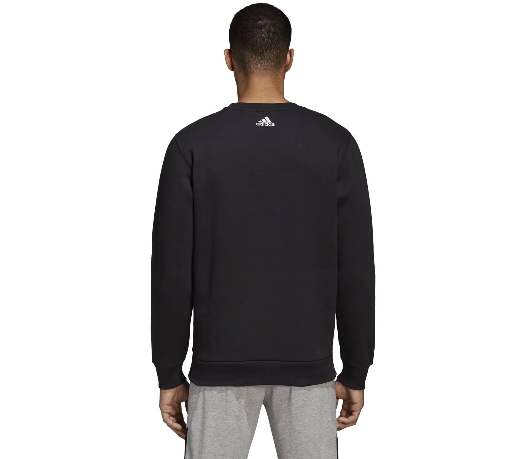 Allcap Acheter Adidas Sweat noir En Essential Crew Hommes Pour 00qwf5xr a5d9ce0c786