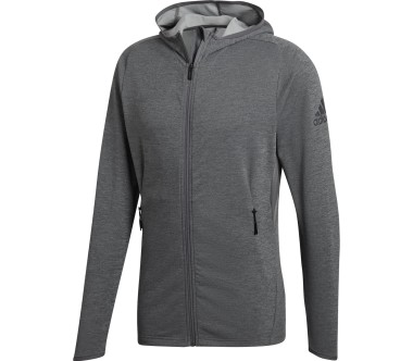 Adidas - Free Lift CC Hoodie men's training jacket (dark grey)